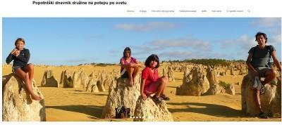 SLO BLOG: Brackoti na potovanju oz. Popotniški dnevnik družine na potepu po svetu