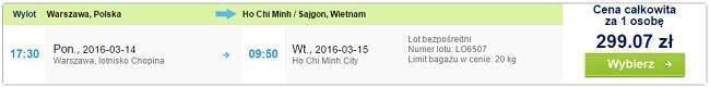 LAST MINUTE! Enosmerne vozovnice iz Varšave v Vietnam že za 69 eur/osebo, Bussines class že za 162 eur /osebo - Izlet na dlani