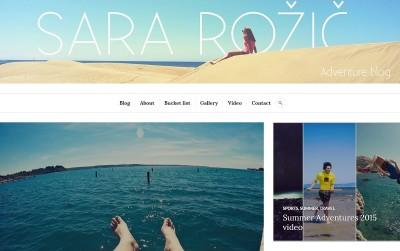 SLO BLOG: Sara Rožič Adventure blog