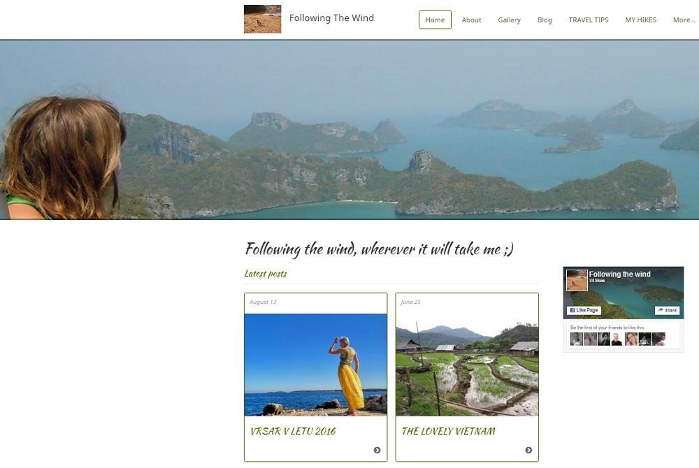 SLO/ANG blog Following the wind