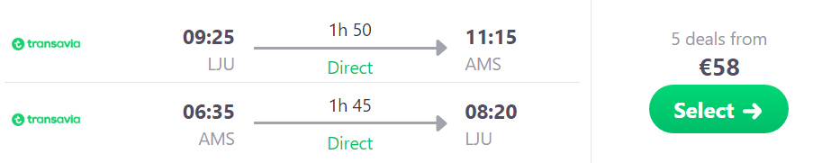 Letalska Karta Maribor Berlin.Nova Linija Letalske Karte Iz Ljubljane V Amsterdam Ze Za 29 Eur