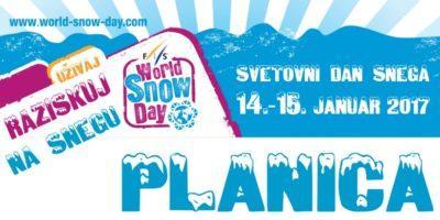 Ta vikend…Svetovni dan snega v Planici