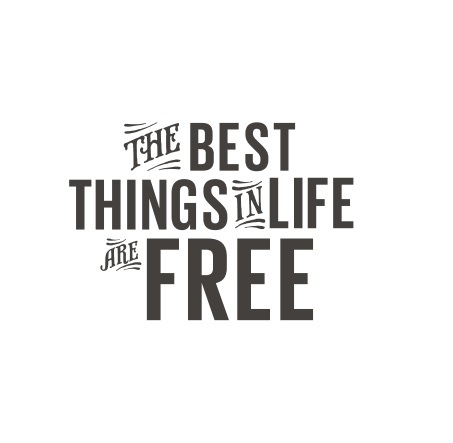 BREZPLAČNO! Lonely planet e-knjiga The best things in life are free